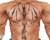 ChestTattoo TribalDragon