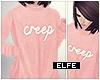◬ creep - pink