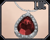 [luc] Necklace S Ruby