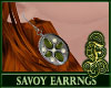Savoy Earrings Green