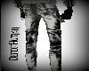 White/Gray Tight Jeans
