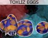 +KM+ ToxLiz Eggs Blue
