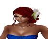 Red Wedding hair