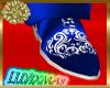 LUVI SILKY BLUE&WHT SHU