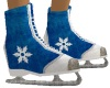 Skate SnowFlake Blue M1