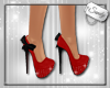 Glitter Shoes Red