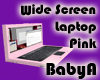 BA Baby Pink Laptop Wide