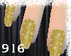 ~Glam Gold Nails