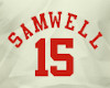 if. Samwell Jersey #15