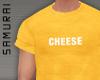 #S Pantona Tee #Cheese