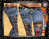 Native Lace Torn Jeans
