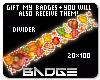 Autumn Divider Badge