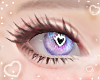 Purple Heart Eyes