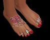 piedi con tatu red