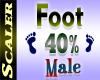 Foot Resizer 40%