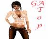 GA Peach checkard top PF