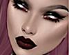 Grey Tone Skin Red Lips