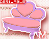 heart sofa DRV