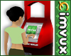 imvux credit ATM Red/Blk
