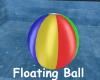 Floating Beachball