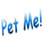 pet me sign