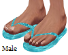 Water Flip Flops M