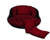 ♛ Red/Blk Kiss Seat