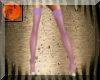 Purple-green heels/nylon
