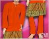 24:Baju Melayu Oren