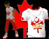 [LNR] Red-N-White Shirt