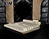 Luxury Gold Rocking Bed