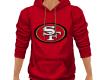 49ers Red Hoody