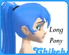 Electric Blue (L)  Pony