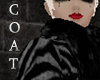 _Silver/Blk Zebra Coat