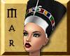 ~Mar Nefer Crown Sil-Blk