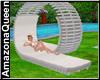 Beach Modern Chair White