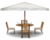 BH patio table & chairs
