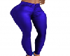 Royal Blue Leather Pants