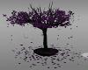 Purple potted tree
