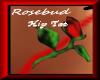 Rosebud Belly Tattoo