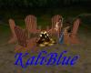 KB Muskoka Chair & Fire
