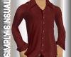 Rust Silk Shirt