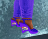 rugrats shoes purple