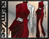 MZ - Seria Gown Red
