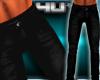 Mens Tight Black Jeans