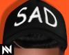 Sad Cap   Black