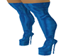 @LEATHER BLUE LONG