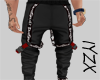 [IY] Fire Skull Pants