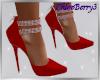 Scarlett Heels Red