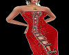 Long RLL Red Dresse